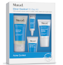 MURAD ACNE CLEAR CONTROL 30-DAY STARTER KIT - US (WORTH $55)