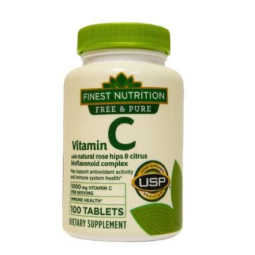 维生素C+玫瑰果+生物类黄酮