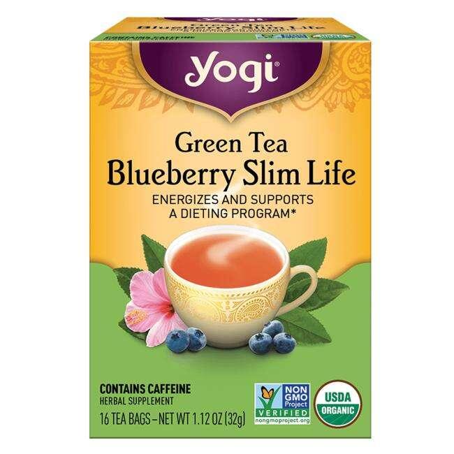 Yogi Tea 绿茶蓝莓茶
