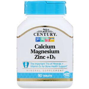 钙镁锌+维生素D3片