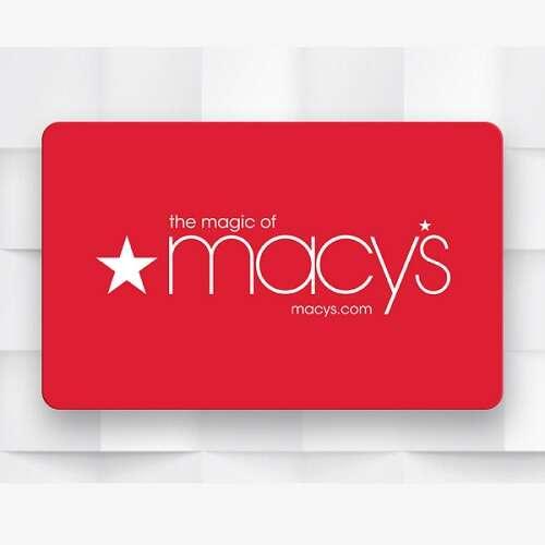 Macy's 电子卡