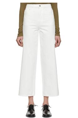 White Flair Jeans