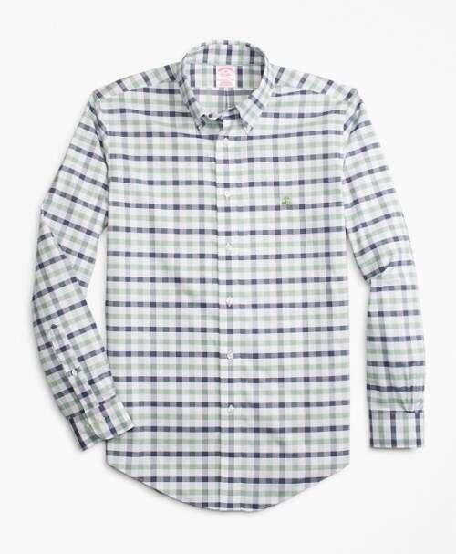 Brooks Brothers彩色格纹衬衫