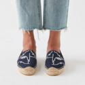 Soludos X Garance Vallée 联名 Visage 渔夫鞋
