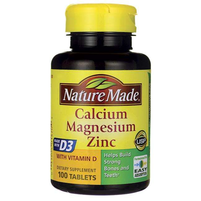 Nature Made 钙镁锌与维生素D