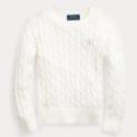 Ralph Lauren 拉夫劳伦 Cable-Knit Cotton Sweater 2-6岁女童针织衫