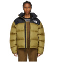 The North Face 1996 黑绿羽绒服
