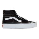 Vans Sk8-Hi 黑色厚底运动鞋
