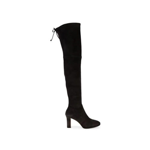 Stuart Weitzman Ledyland Over-The-Knee Suede Boots