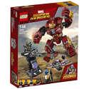 LEGO 乐高 漫威超级英雄系列 钢铁侠反浩克装甲 76104
