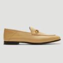 Gucci 棕色乐福鞋