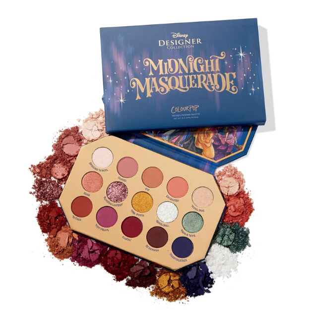 ColourPop  midnight masquerade shadow palette 25% OFF