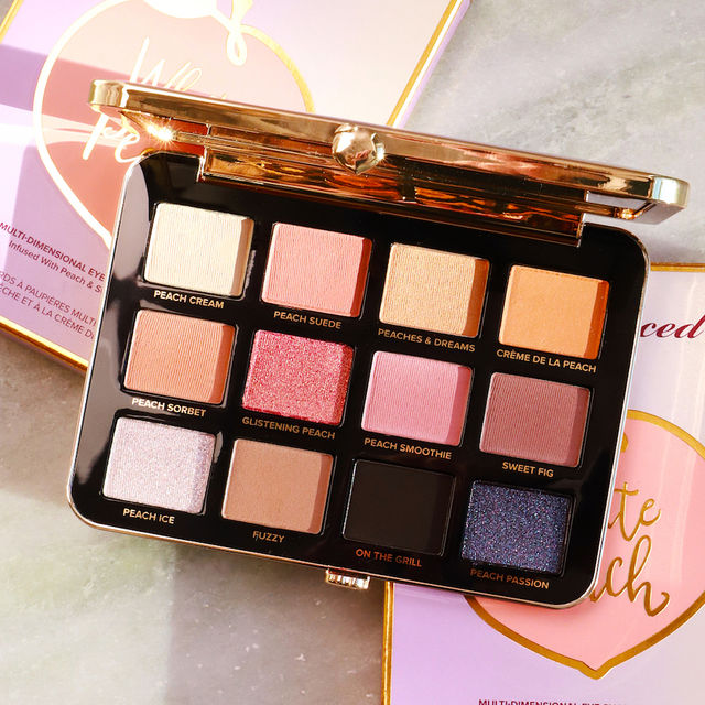 Too Faced Peaches & Cream White Peach Eyeshadow Palette 56% OFF