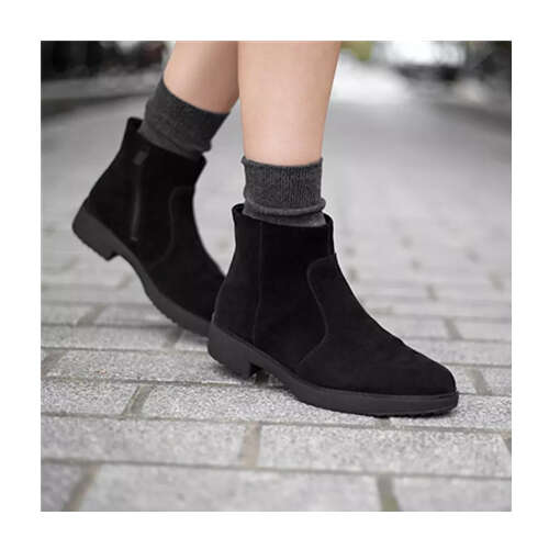 麂皮女士短靴