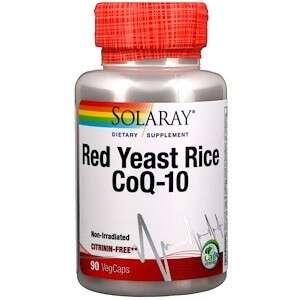 Solaray 红麴+辅酶Q-10胶囊