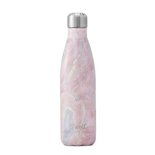 粉色大理石纹水瓶