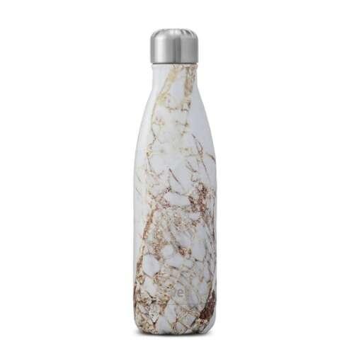 白金色纹理水瓶
