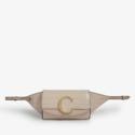 Chloé C 鳄鱼压纹皮革腰包