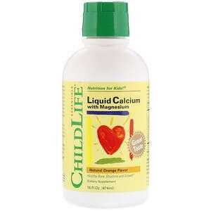 ChildLife 含镁的液体钙