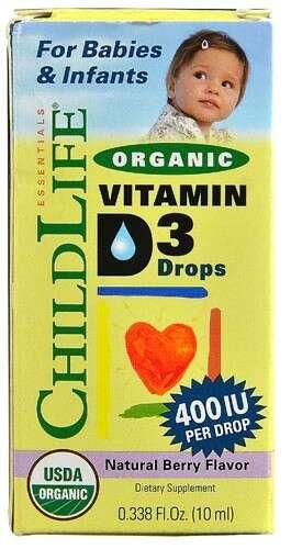 有机维生素D3滴剂