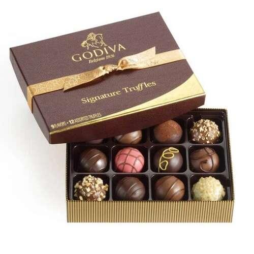 特色巧克力松露礼盒