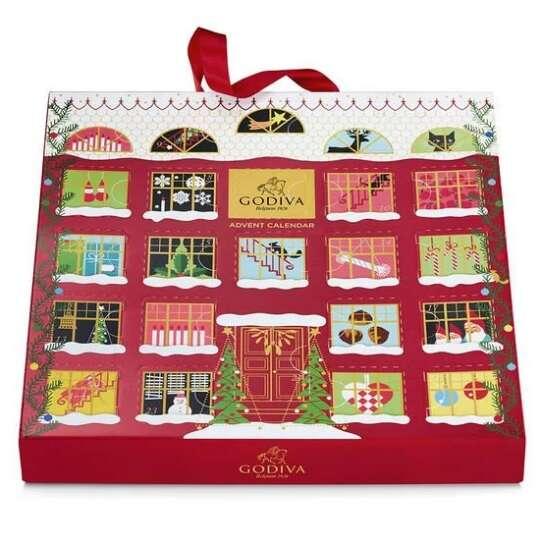 巧克力圣诞日历