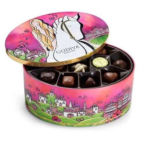 限量版罐装巧克力