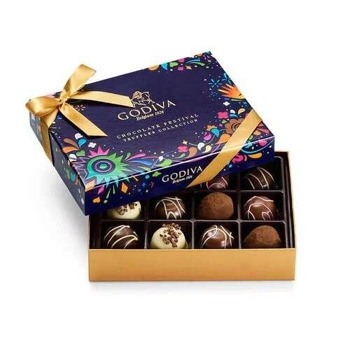 巧克力节日松露礼盒