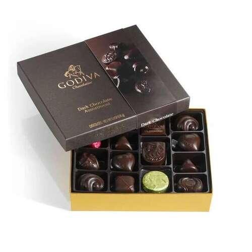 黑巧克力礼盒