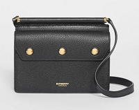Mini Leather Title Bag with Pocket Detail